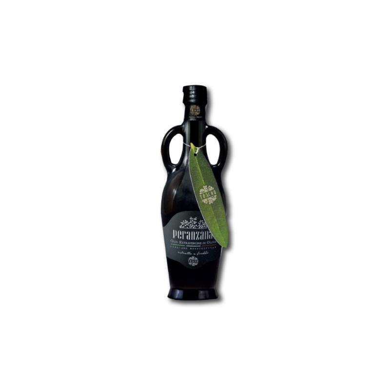 Bottle of olive oil from Puglia